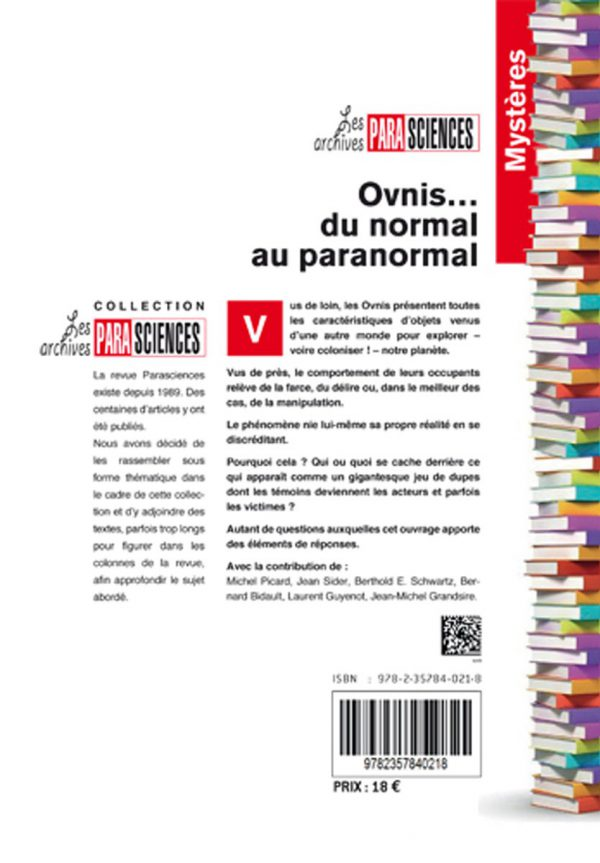 Ovnis… du normal au paranormal